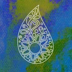 Logo Spiruline du Cap des Ailes - une goutte d'eau du soleil et du vivant